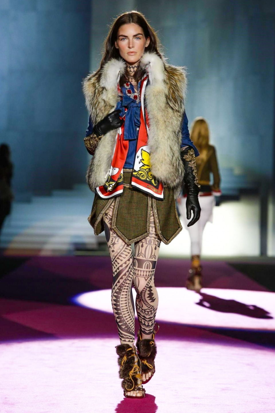 Dsquared2 Fallwinter 2015 2016 Collection Runway Looks To Fall In