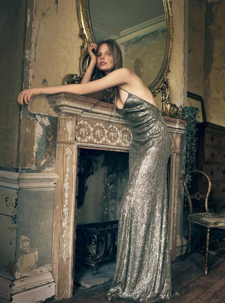 Elisabeth Erm shoot by Regan Cameron fo October 2015 issue of Harper's Bazaar UK