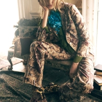 "Elisabeth Erm is very ""Bohemian""  in October 2015  issue of Harper's Bazaar UK"