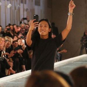 alexander Wang last show for Balenciaga