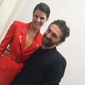 David Koma & Isabeli Fontana